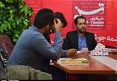 مدیرکل کتابخانههای عمومی خوزستان از دفتر خبرگزاری تسنیم بازدید کرد+تصویر