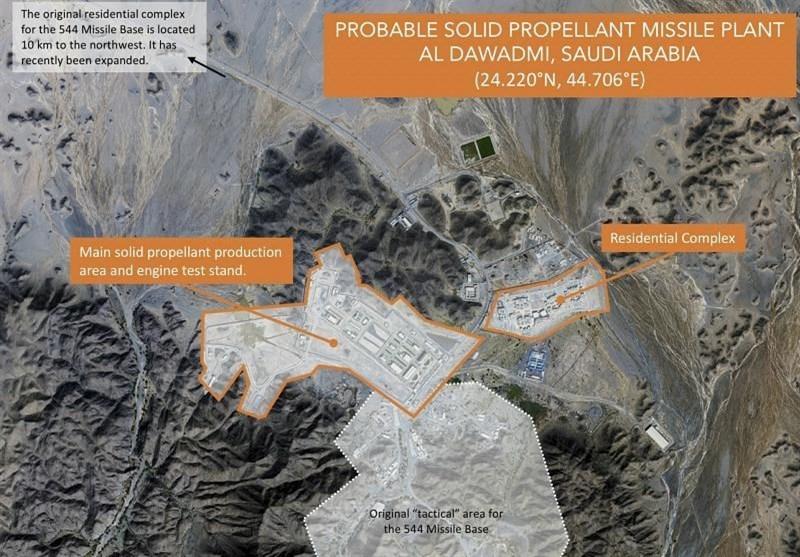 خبرگزاری آمریکایی: عربستان در حال آزمایش و ساخت موشک بالستیک است