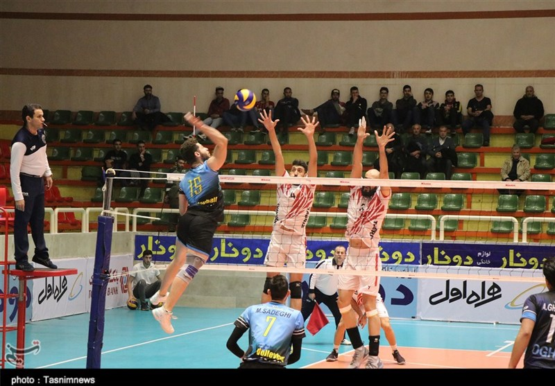 لیگ برتر والیبال| شهرداری تبریز سایپا را با شکست بدرقه کرد