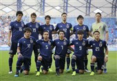 اعلام ترکیب ژاپن برای دیدار با ایران