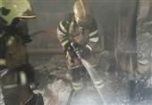 سوختگی شدید 4 نفر بر اثر آتشسوزی منزل + تصاویر