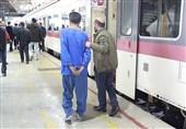 سرقت از مسافران قطار با مواد بیهوشکننده + تصویر متهم