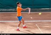 تنیس زیر 13 سال غرب آسیا  کسری رحمانی قهرمان شد