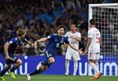 برتری نسبی ژاپن مقابل ایران در آمار