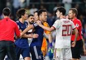 اندوه بازیکنان ایران و شادی ژاپنیها؛ تقابل اشک و خنده در امارات