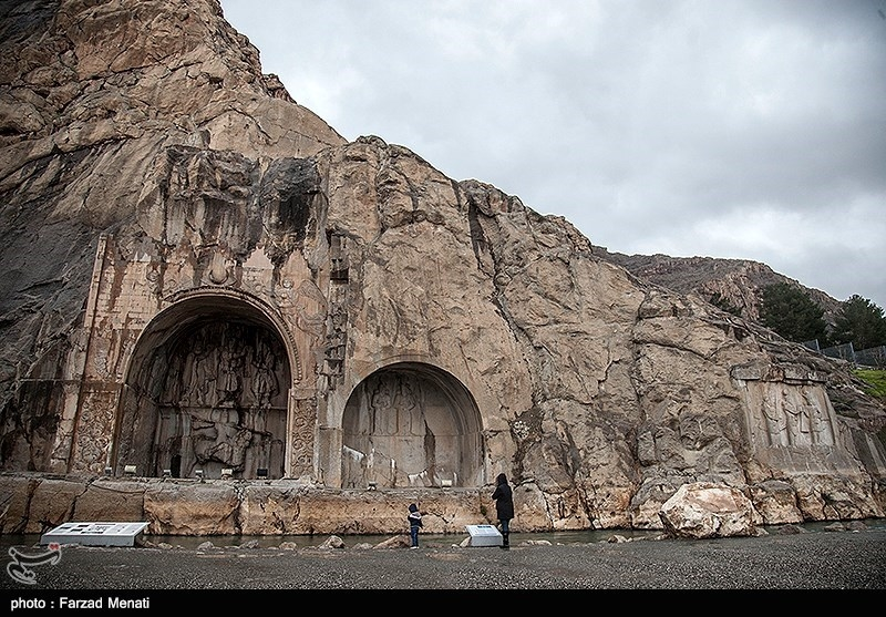 Taq-e Bostan Historical Site in Western Iran