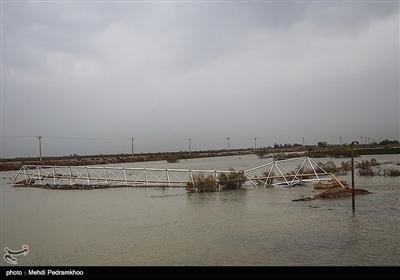 خوزستان میں بارشیں اور سیلاب
