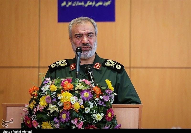 سردار فدوی: امروز سپاه در نقطهای افتخار آمیز قرار دارد