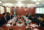 دیدار سفیر ایران با وزیر فرهنگ و ورزش جمهوری قزاقستان