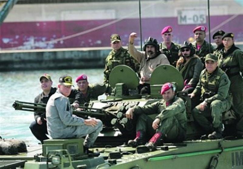 رزمایش ارتش ونزوئلا در مرز کلمبیا