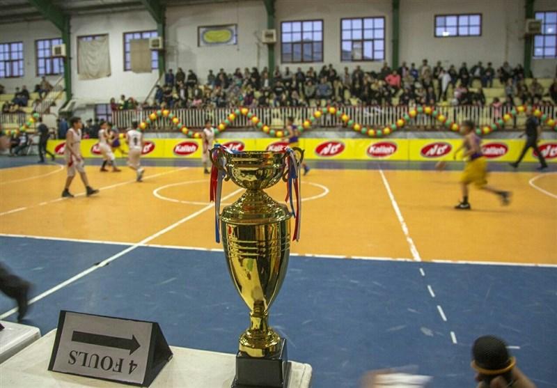 هرمزگان قهرمان کاله کاپ شد/ هنرنمایی نوجوانان بسکتبالیست در حضور کاپیتان و سرمربی تیم ملی+عکس