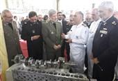 وزیر دفاع از نمایشگاه صنایع دریایی بازدید کرد