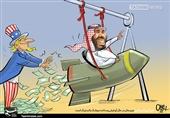 کاریکاتورهای عربی |از تخریب عربستان تا ناتوانی عربی در برابر «معامله قرن»