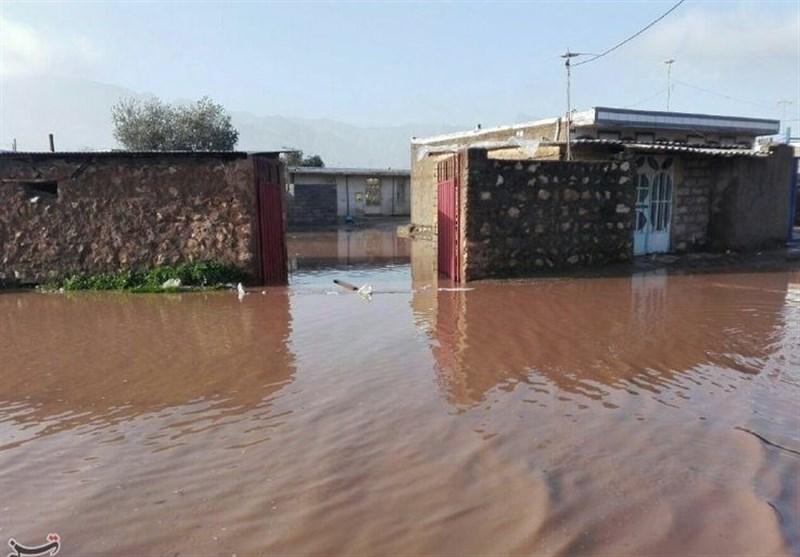 لرستان| سیلاب 70 میلیارد تومان خسارت به شهرستان پلدختر وارد کرد