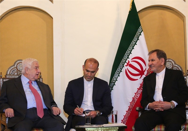 Muallem Asks Iran to Stand by Syria