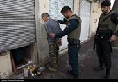 فیلم و تصاویر/ عملیات دستگیری و پاکسازی شوش، هرندی و مولوی از موادفروشان