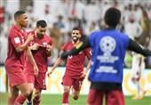 جام ملتهای آسیا| برتری قطر مقابل امارات در نیمه اول