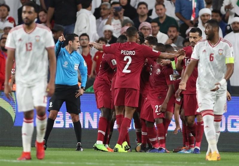 AFC ادعای اماراتیها در مورد تیم ملی قطر را نپذیرفت