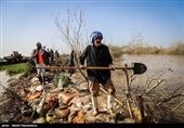 فعالیت 500 جهادگر ستاد اجرایی فرمان حضرت امام (ره) در مناطق سیلزده خوزستان