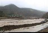 2 محور مواصلاتی بلوچستان در پی طغیان رودخانه مسدود شد