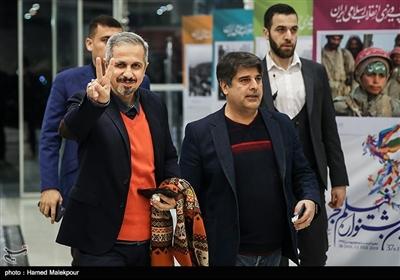 جواد رضویان در مراسم افتتاحیه سیوهفتمین جشنواره فیلم فجر