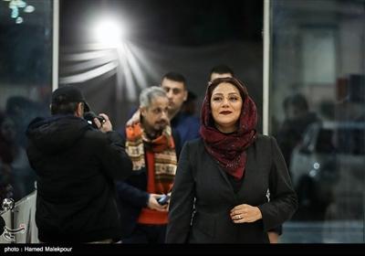 شبنم مقدمی در مراسم افتتاحیه سیوهفتمین جشنواره فیلم فجر