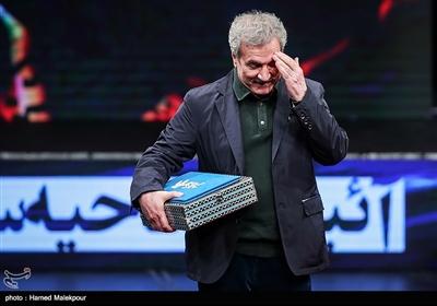 بزرگداشت عزیزالله حمیدنژاد در مراسم افتتاحیه سیوهفتمین جشنواره فیلم فجر