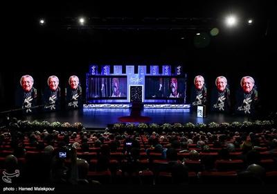 نکوداشت عزتالله انتظامی در مراسم افتتاحیه سیوهفتمین جشنواره فیلم فجر