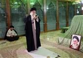 حضور امام خامنهای در مرقد مطهر امام خمینی(ره) و گلزار شهیدان