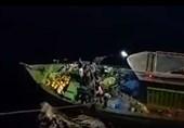 نجات 8 ماهیگیر هندی توسط دریانوردان شرکت ملی نفتکش ایران + فیلم