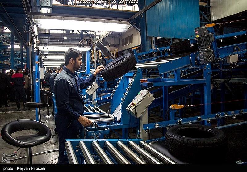 ثمرات انقلاب 40 ساله ـ استانها| تولید روزانه 12 هزار حلقه انواع لاستیک در کردستان+فیلم