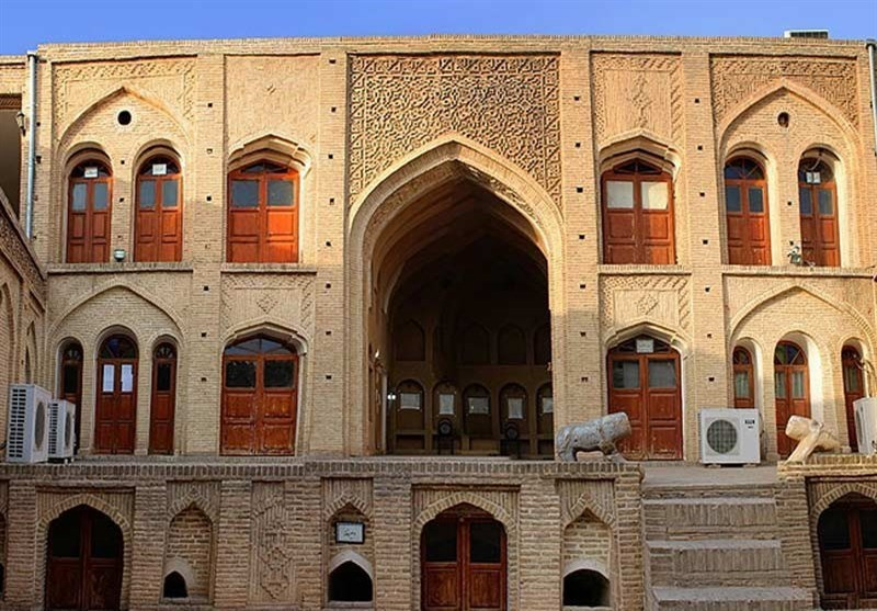 Tizno Historical House in Dezful, Southwest of Iran