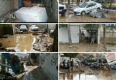 آتشنشانان تهرانی به کمک مردم سیلزدهلرستان رفتند