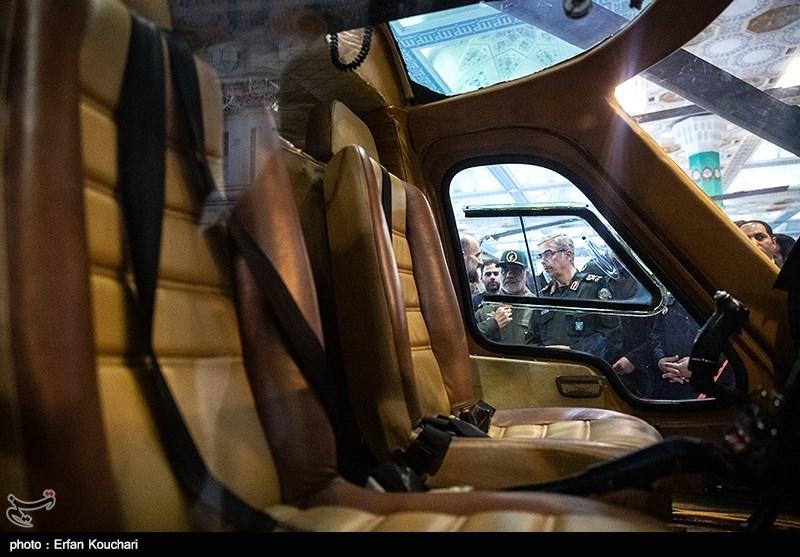 بازدید سرلشکر محمد باقری رئیس ستاد کل نیروهای مسلح از نمایشگاه دستاوردهای دفاعی جمهوری اسلامی ایران و نمایشگاه سازندگی محرومیت زدایی و خدمت رسانی