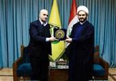 Nuceba Genel Sekreteri İle Suriye Parlamento Sözcüsü Görüştü