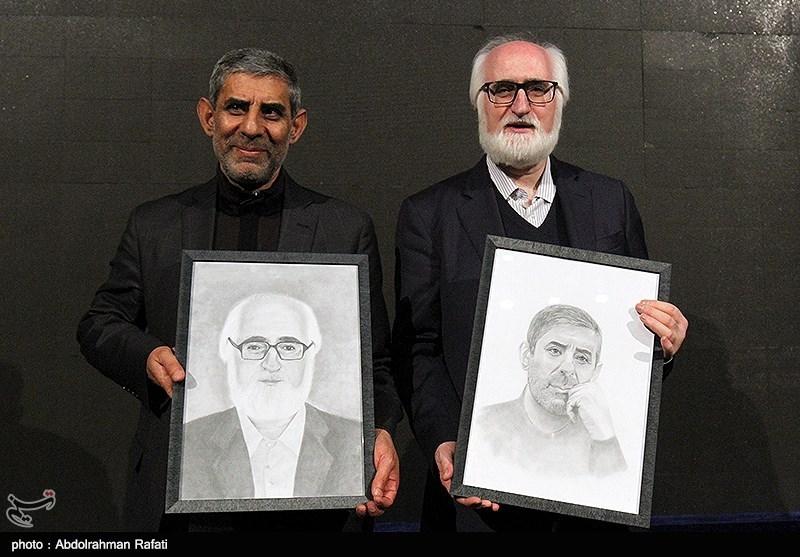 """حاشیهنگاری تسنیم از مراسم نکوداشت """"جواد محقق"""" و """"حمید حسام"""""""