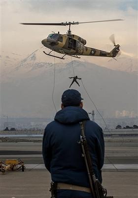 نمایشگاه دستاوردهای هوایی نیروهای مسلح در پایگاه یکم شکاری ترابری شهید لشکری تهران
