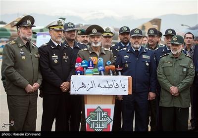 کنفرانس خبری سرلشکر موسوی فرمانده کل ارتش جمهوری اسلامی ایران