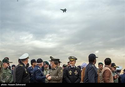 مراسم افتتاح نمایشگاه دستاوردهای هوایی نیروهای مسلح