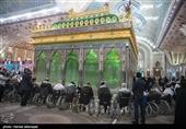 تجدید پیمان جانبازان 70 درصد ویلچری با آرمانهای امام راحل+تصاویر