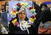 امام خمینی (رہ) ایئر پورٹ پر مرضیہ ہاشمی کا شاندار استقبال