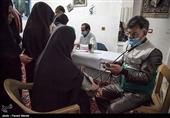 اردوی جهادی خادمیاران سلامت رضوی در مناطق محروم کرمانشاه