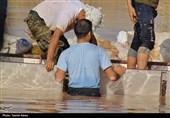 سیلبندهای خوزستان مشکل داشت/توزیع اقلام غذایی بین 3500 خانواده سیلزده