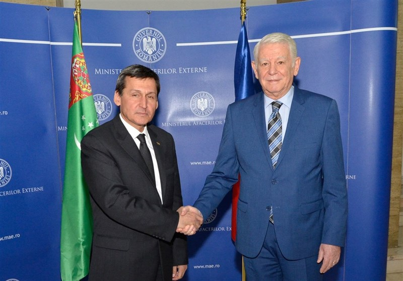 گزارش تسنیم| کریدور غیرایرانی «دریای خزر- دریای سیاه» محور جدید همگرایی عشقآباد و بخارست