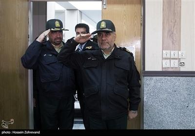 سردار حسین رحیمی رئیس پلیس تهران بزرگ