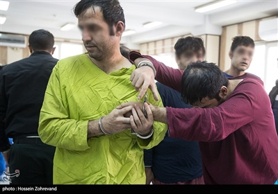 سارقان مسلح که یک زندانی را در تاریخ 9 آبان 97 از بیمارستان امام خمینی (ره) فراری دادند