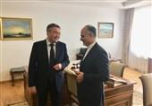 دیدار سفیر ایران در آستانه معاون اول وزیر امور خارجه قزاقستان