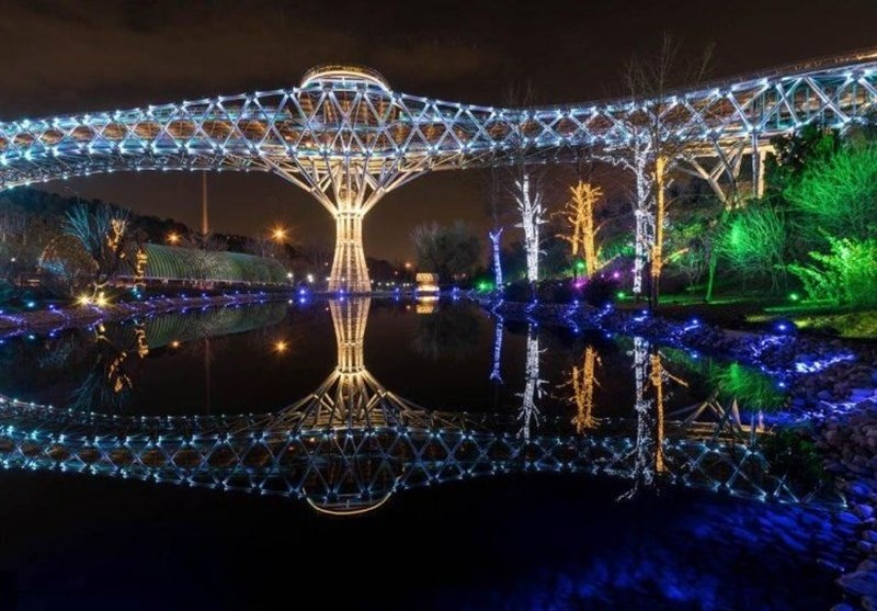 The Tabi'at Bridge: The Largest Pedestrian Overpass Tehran, Iran - Tourism news