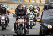 """""""موتورسواران پلیس افتخاری"""" برای توقف موتورسیکلتهای سنگین وارد عمل میشوند"""