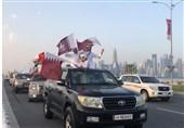 استقبال گرم امیر و مردم قطر از بازیکنان قهرمان جام 2019 + تصاویر و فیلم